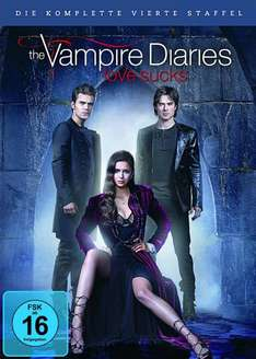 [amazon] The Vampire Diaries - Staffel 4 [5 DVDs] für 24,97€
