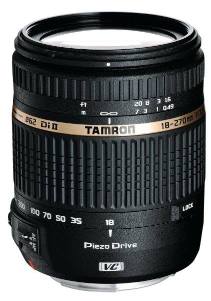 Tamron AF 18-270mm f3.5-6.3 Di II VC PZD [Canon]  für 295,00 € @Amazon.fr