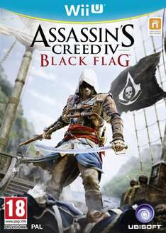 Assassin's Creed 4: Black Flag [Wii U/PS3/Xbox 360] für 29,65€ inkl. Versand (idealo: 49,99€) @Zavvi
