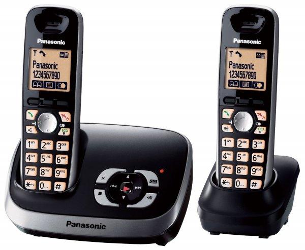 Panasonic KX-TG6522GB Duo mit AB, 2x Telefon schnurlos für 25,- Edeka LOKAL