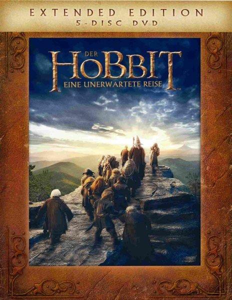 Der Hobbit: Eine unerwartete Reise - Extended Edition DVD 9,99€/BR 14,99€/3DBR 24,99€ bei Müller offline