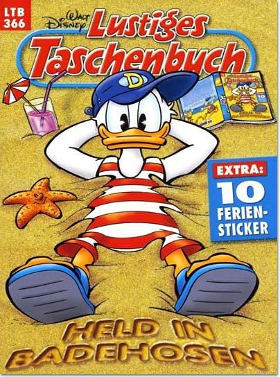 Disney Lustiges Taschenbuch (LTB) Jahresabo für 38,65€ (2,97€/Ausgabe)