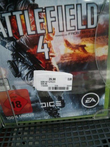 [lokal? Mannheim] Battlefield 4 für Xbox360/PS3 für 29,00 Euro @ Media Markt Neckarau