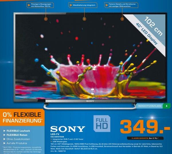 Sony KDL-40R470 349€ [Saturn Düsseldorf] LOKAL