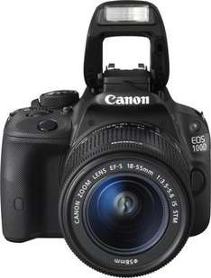 [Amazon Blitzangebot]Canon EOS 100D Kit 18-55 mm [Canon IS STM] CASHBACK möglich!