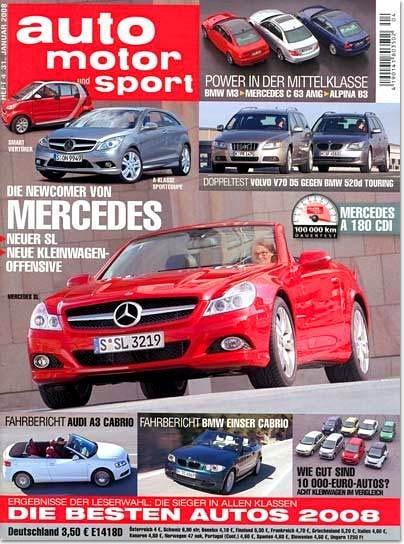 "Prämien-Abo ""Auto Motor & Sport"" für 27,70€"