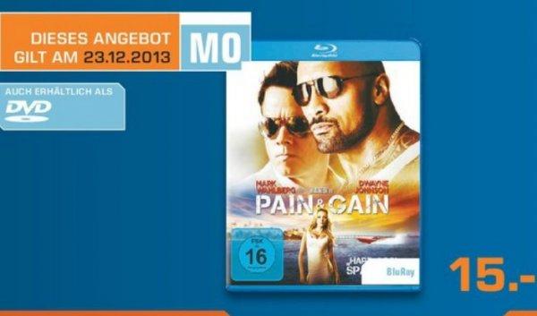 Pain & Gain BluRay 15€ [Saturn Remscheid] Tagesangebot am 23 Dez!