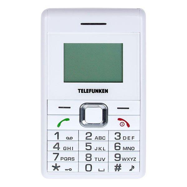 Telefunken T20 Mini Handy Weiss (ohne Simlock) für 6,99€ @Deltatecc