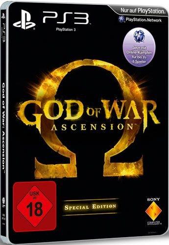 PS3 God of War: Ascension SE (USK 18) für 19€ @Redcoon.de