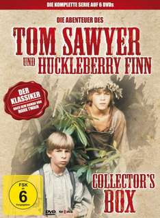 ROSSMANN [offline] Tom Sawyer & Huckleberry Finn (Collectors Box, 6 DVDs) 14,99 Euro