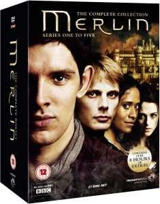 Merlin - The Complete Collection - Series One to Five [27 DVDs] [UK Import] für 39,10€ inkl. Versand @ Zavvi