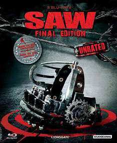 SAW 1-7 Unrated Box (Blu-ray) für 58,87 € (inkl. VSK) @best-trade.de