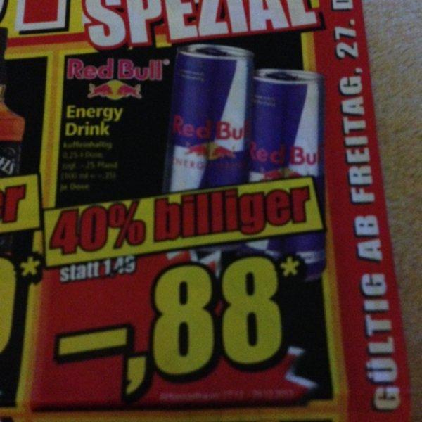 [lokal?] Red Bull für 0.88€ zzgl. Pfand @Norma