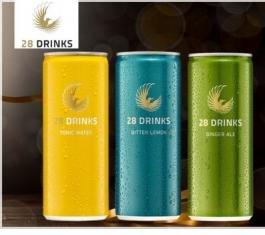 24 Dosen 28 Drinks (Hersteller von 28 BLACK) nur 19,90 EUR inkl. Pfand / Porto