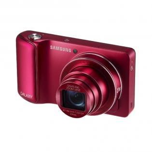 Samsung Galaxy Camera Rot für 212,31 € @Redcoon