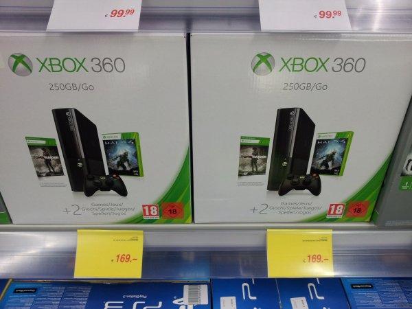 [lokal?] MediMax Gera - Xbox 360 - 250 GB + Tomb Raider (DLC) + Halo 4