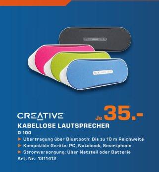[Saturn Köln] Creative d100 Bluetooth Lautsprecher
