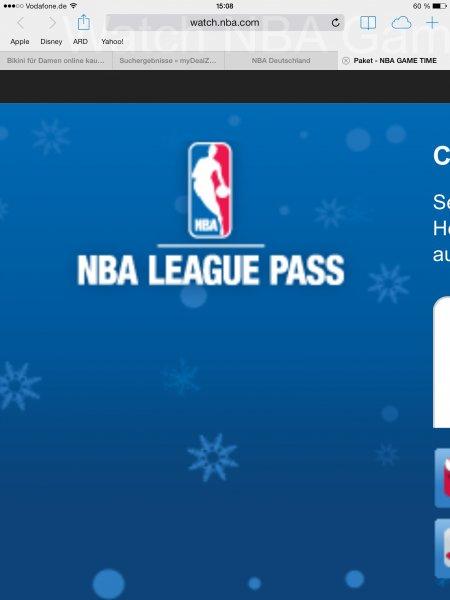 NBA Christmas Day Pass 10€ / Kostenloses Spiel