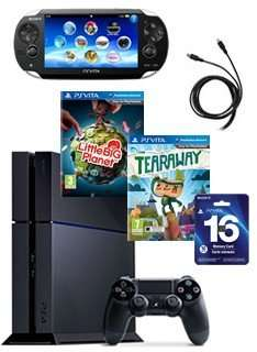 Playstation 4 inkl. Vita Bundle lieferbar!