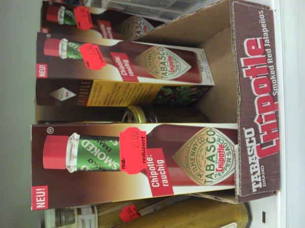 [Lokal & offline: real Altwarmbüchen bei Hannover] Tabasco Chipotle 140ml für 2€