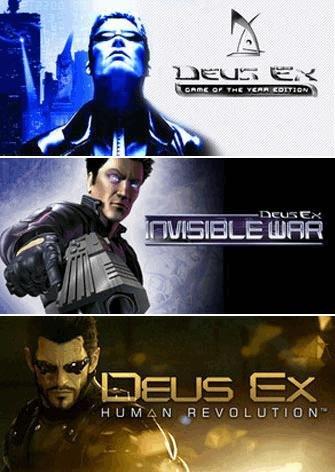 """[Steam]  Deus Ex Super Bundle bei """"game.co.uk"""""""