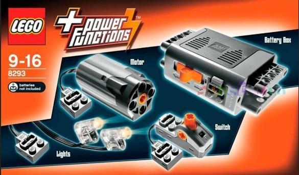 LEGO 8293 Technic: Power Functions Tuning-Set für 22,94 € (inkl. Versandkosten)