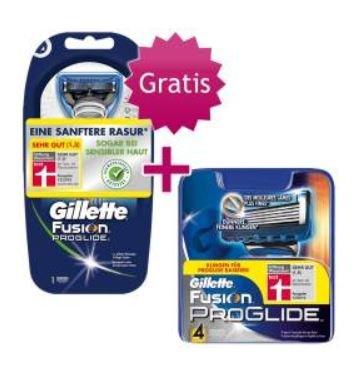 Gillette Fusion Proglide Klingen 20 Stk für 37,92€ (1,90€ Stk) oder 16 Stk