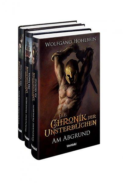 Chronik der Unsterblichen v. Wolfgang Hohlbein Band 1-3