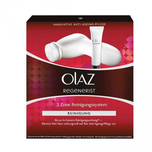 """Olaz Regenerist """"3 Zone"""" Gesichtsreinigungsbürste mit 2 Rotationsstufen [Amazon Blitzangebot]"""