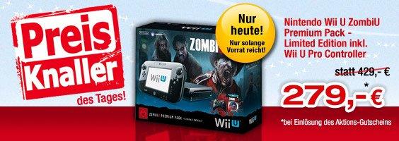 WiiU Zombie U Premium Pack