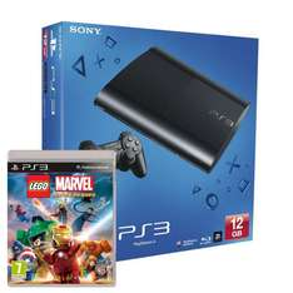 Sony PlayStation 3 Slim 12GB + Lego Marvel Superheroes für 166€ @Amazon.co.uk