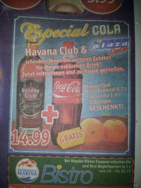 [Sky XXl offline ] Havana Club Especial + 1l Cola + 2 Orangen 14,99€ Regional Norden