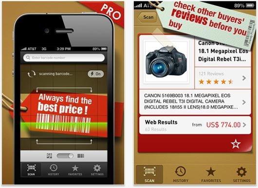 """[iOS] """"Quick Scan Pro"""" für QR- und Barcodes aktuell gratis statt 0,89€"""