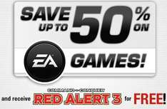 EA Sale auf Gamefly + Red Alert 3 gratis bei Kauf - z.B. C&C Ultimate Collection für 7,20€