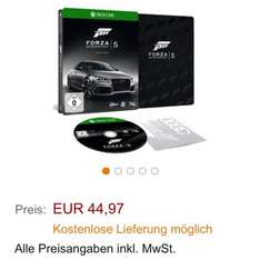 Forza 5 steelbook Edition, xbox one, amazon.de