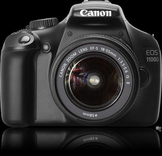 Canon EOS 1100D SLR-Digitalkamera + Kit 18-55mm