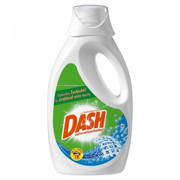 DASH Flüssigwaschmittel kostenlos testen