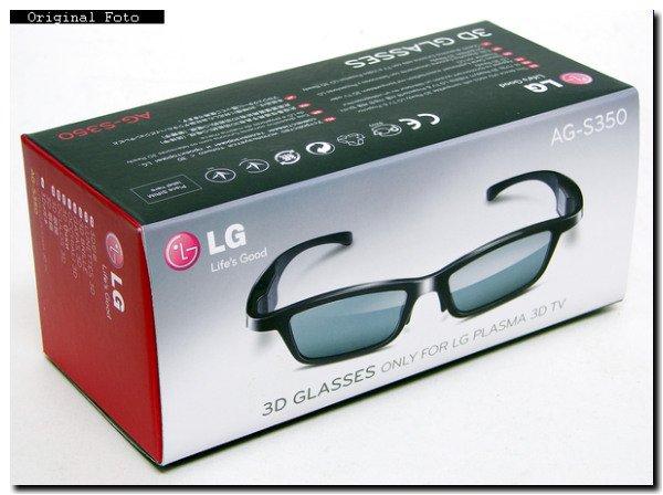 LG AG-S350 Active 3D Shutter Briller für 9,13 EUR (Prime) @ Amazon (IDEALO: 45,95 EUR)