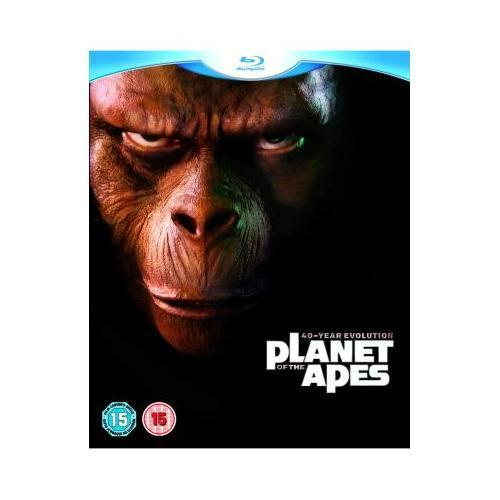Planet der Affen: 40 Jahre Evolution Blu-Ray Collection für 21,49€ inkl. Versand bei Play.com