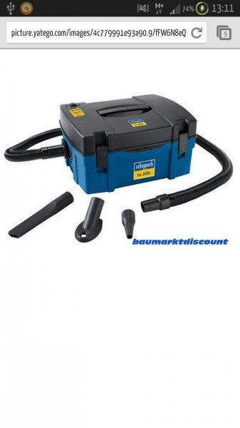 Scheppach Absauganlage HA 200 S mit Aufblasfunktion 230V / 1,25 KW