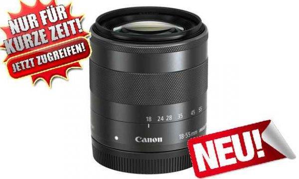 Canon EF-M 18-55mm f3.5-5.6 IS STM Objektiv für 100€ @Ebay