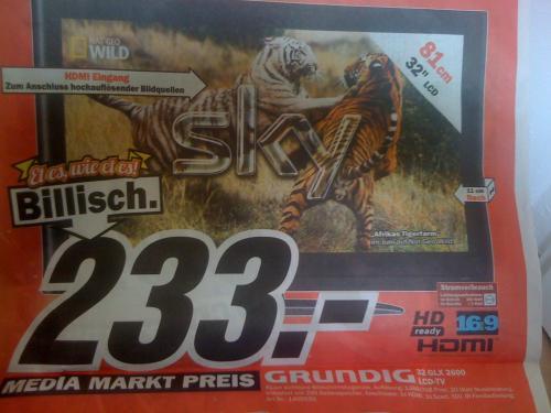 "[Mediamarkt Köln] Grundig GLX 2600 32"""