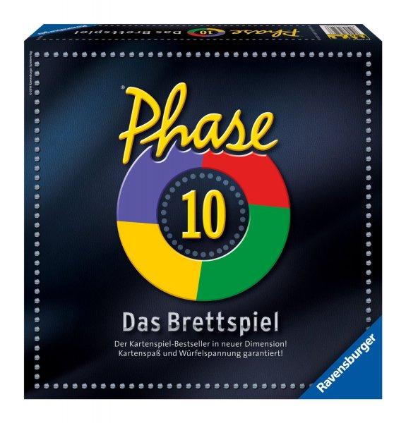 Phase 10 - Das Brettspiel für 14,99 € + ggf. 3 € Versand