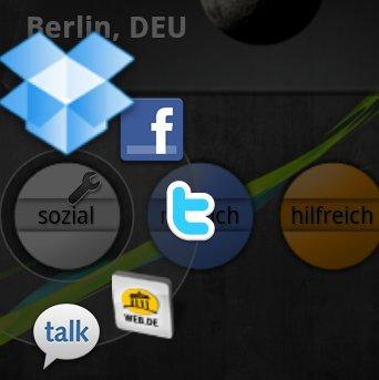 Android. Circle Launcher. Widget. Gratis statt 1 Euro. Adventskalender Androidmag.de