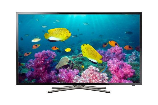 Samsung UE40F5570 101 cm (40 Zoll) LED-TV, Full HD, 100 Hz, Triple Tuner, WLAN, EEK A