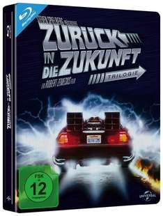 Zurück in die Zukunft 1-3 Trilogie - Limited Steelbook Collection (Blu-ray) @media-dealer.de