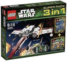 [Lokal] Berlin Real RingCenter LEGO Star Wars 66456 - Super Pack 3 in 1