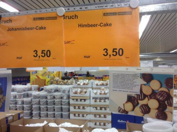 [lokal Hannover] 2,3 KG Bahlsen Soft Cake Bruch - 3 Sorten