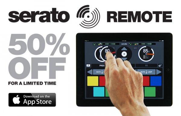 Für DJs: Serato Remote (iPad-Version) 50% billiger im Apple App-Store