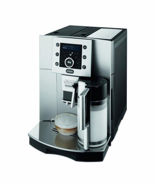 [Amazon.de]  DeLonghi ESAM5500 Kaffee-Vollautomat Pronto Cappuccino Funktion (1.7 l, 15 bar, integriertes Milchsystem ) silber-metallic von DeLonghi  für 399€